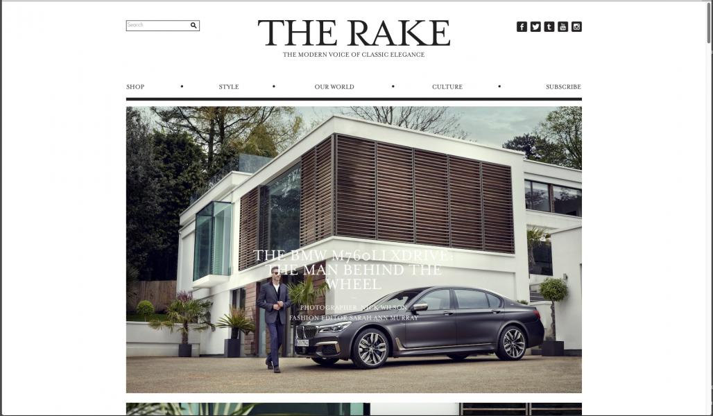 The Rake x BMW 760Li